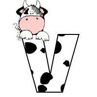 пр Miniature Cows, Unicorn Coloring Pages, Letter V, Alphabet And Numbers, Alphabet Letters, Cow Print, Stencils, Creations, Stationery