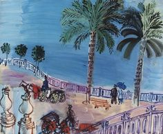 View Nice, Vue de l'Escalier Le Sage By Raoul Dufy; Access more artwork lots and estimated & realized auction prices on MutualArt. Provence, Pop Art, Art Nouveau, Summer Drawings, Raoul Dufy, Composition Art, Tate Gallery, Beauty In Art, Fauvism
