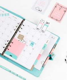 Be inspired to decorate your kikki.K Planner with this cute idea