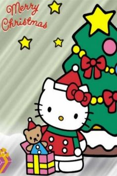 Hello Kitty Christmas Desktop Wallpapers | Hello Kitty Christmas For Desktop Wallpaper iPhone Wallpapers ...