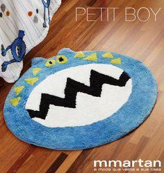 Um tapete de monstrinho para os meninos! #monster #tapete #decor #mmartan #petitboy R$59.40