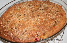 Πανεύκολο κέικ για όλες τις ώρες. Savory Muffins, No Bake Desserts, Banana Bread, Macaroni And Cheese, Tea Party, Breads, Food And Drink, Cooking Recipes, Snacks