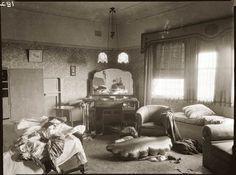 Crime Scene, late 1930s