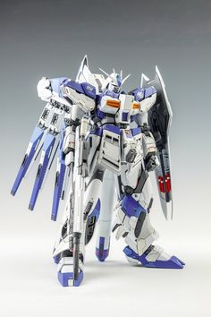 MG 1/100 Hi-Nu Gundam - Customized Build Modeled by mushuwyou