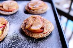 Sweet little Apple Peanut Butter Delights. Super easy snack.