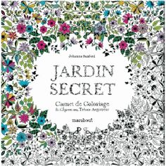 Jardin secret coloriage