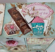 Tea, Cover, Decorated Boxes, Teas
