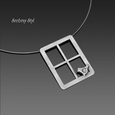 PTASZEK W GOŚCINIE / Srebrny Styl / Biżuteria / Naszyjniki Projects To Try, Handmade Jewelry, Pendants, Diamond, Gallery, Silver, Jewellery, Jewels, Jewelry Shop