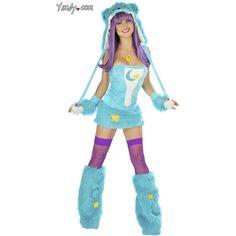 Turquoise Bear Costume, Bear Halloween Costume, Adult Bear Costume (21 BRL) ❤ liked on Polyvore