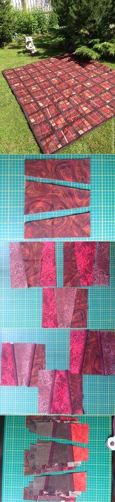 Patchwork for beginners: we sew scrappy blocks in the kreyz equipment