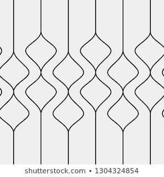 Stylish background with linear wavy lines. Border Embroidery Designs, Quilting Designs, Wall Patterns, Textile Patterns, Pattern Drawing, Pattern Art, Fabric Paint Designs, Pop Art Wallpaper, Islamic Art Pattern