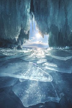 Ice is blue by Coolbiere. A.