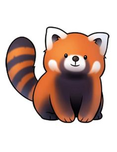 red panda clipart.html