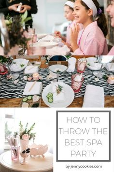 This DIY Tween Spa Party Would Make Even a Grown Woman Jealous - Birthday Party Ideas - Birthday Diy Spa Birthday Party, Spa Day Party, Girl Spa Party, Pamper Party, 13th Birthday Parties, Birthday Party For Teens, Birthday Ideas, Teen Spa Party, Spa Sleepover Party Ideas