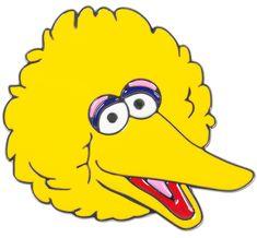 IMAGE: big bird face
