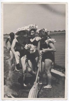 Pre-War Soviet beach photographs