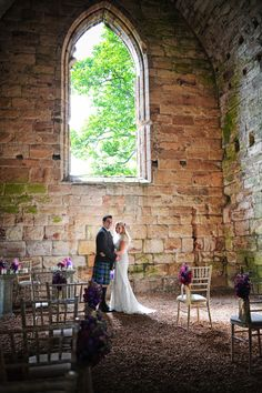 Gorgeous Weddings In The Beautiful 15th Century Gothic Church At Dungl Estate