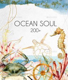 Ocean Soul. Graphic Collection by yderbisheva | GraphicRiver