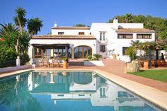 Holiday home Javea Costa Blanca Villa Spain for rent Casa Rosalia