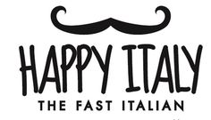 Logo design for Italian restaurant chain Happy Italy in the Netherlands | Restaurant Logo | Restaurant Logo Design | Creative logo | Restaurant branding