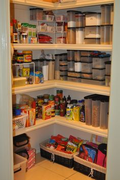 Organizing the Pantry...going to need to know this!