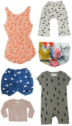 Baby clothes by Bobo Choses  http://www.murrayandfinn.com/brands/