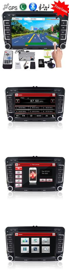 Video In-Dash Units w GPS: For Vw Jetta Passat Golf 7 2Din Hd Touch Car Stereo Gps Dvd Player Radio Sd -> BUY IT NOW ONLY: $159.99 on eBay!
