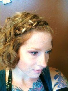Boho Braid Crystal at Trendz Salon trendy-hair