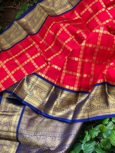 Kanjipuram Saree, Kanjivaram Sarees Silk, Indian Bridal Sarees, Marriage Dress, Saree Trends, Elegant Saree, Fancy Sarees, Beautiful Saree, Saree Blouse Designs