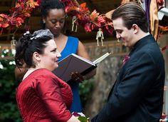 Zombie Wedding Ceremony