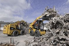 Cat 246C Skid Steers - Nikau Contractors started work on the Christchurch rebuild in the demolition phase