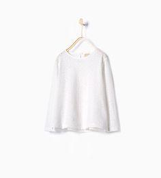 ZARA - ENFANTS - T-shirt brodé