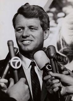 Senator Robert F. Kennedy in 1965 photographed by Steve Schapiro. Les Kennedy, Ethel Kennedy, Robert Kennedy, Jacqueline Kennedy Onassis, Bobby S, Aubrey Plaza, Greatest Presidents, American Spirit, Before Us