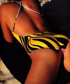 Denis Piel for American Vogue, June 1983. Swimsuit by Armonia.