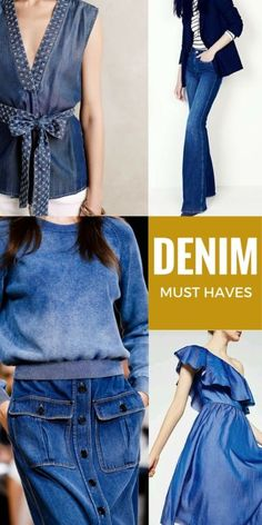 Click on the photo above for all the best denim clothing you need in your wardrobe this year.