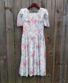 S M Small Medium Vintage Jessica McClintock by PinkCheetahVintage, $23.99