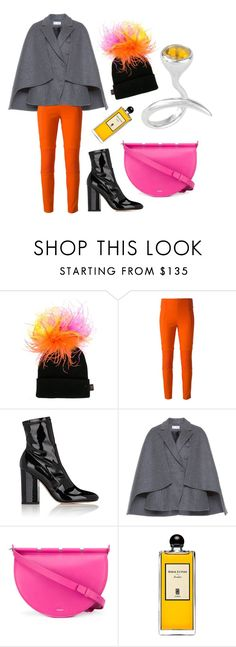 """cape"" by annikaburman ❤ liked on Polyvore featuring Piers Atkinson, Joseph, Valentino, Dice Kayek, Thierry Mugler and Serge Lutens"
