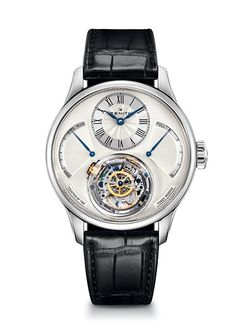 Zenith Academy Christophe Colomb Equation du Temps - White gold watch, silver-toned dial and alligator leather strap