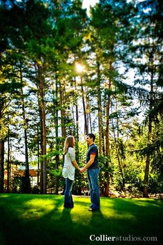 Dow Gardens - Engagement Session, image courtesy of: Collier Studios
