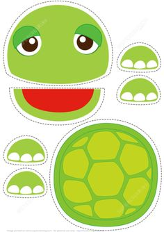 Turtle Toy Paper Craft from Paper models category. Hundreds of free printable papercraft templates of origami, cut out paper dolls, stickers, collages, notes, handmade gift boxes with do-it-yourself instructions.