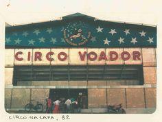 circo voador, 1982.