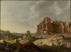 The Stoning of Saint Stephen / La lapidación de San Esteban // 1632 // Bartholomeus Breenbergh // The J. Paul Getty Museum