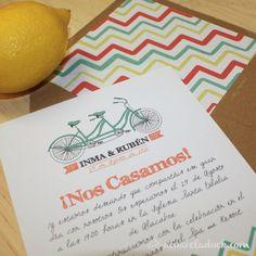 de boda tandem invitacin boda verano invitacin divertida invitacin bicicleta