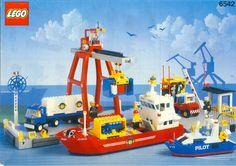 Lego Town / Nautica: 6542 Launch & Load Seaport (1991)