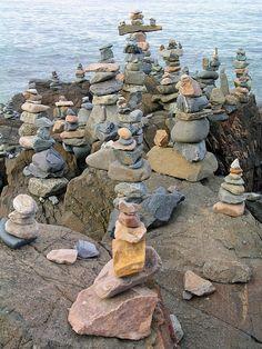 Ogunquit, Maine stones.