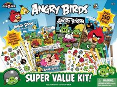Cra-Z-Art Angry Birds Marker by Number Drawing Set
