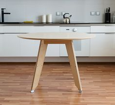 Plywood dinner table