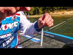 Make Your Drop Shot Imitate Shad & Suspended Baitfish - YouTube