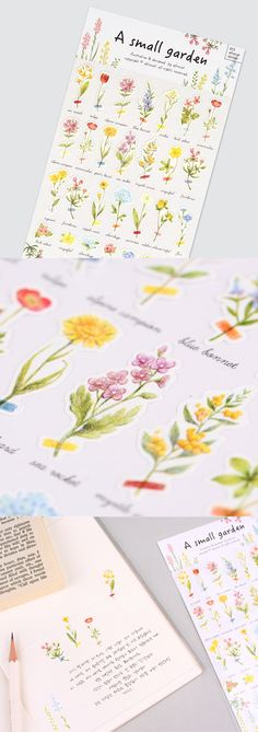 Such a graceful flower deco sticker! Accentuate anything beautifully you put this sticker on. ^_^