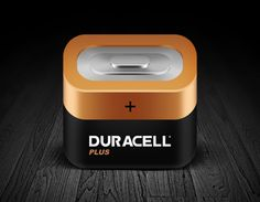 Dribbble - Icon DURACELL by Zukhriddin